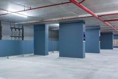 L'espace vide dans un stationnement Photos stock