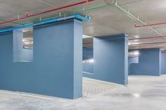 L'espace vide dans un stationnement Photographie stock