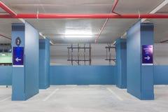 L'espace vide dans un stationnement Photos libres de droits