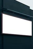 L'espace vide de copie d'affiche de panneau d'affichage de ville de la publicité Photos stock