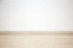 L'espace vide de couleur crème avec la tuile Image libre de droits