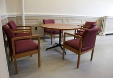 L'espace vide de réunion Photo stock