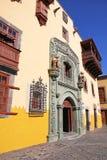 L'Espagne. Île de Canaria de mamie. Las Palmas de Gran Canaria. Columbus Photos stock