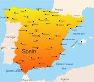 l'Espagne illustration stock