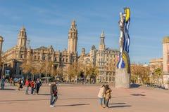L'Espagne - Barcelone Photo stock