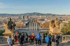 L'Espagne - Barcelone Photos libres de droits