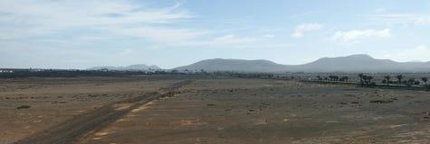 L'Espagne, Fuerteventura, EL Cotillo Un paysage photographie stock libre de droits