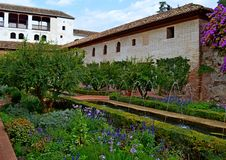 L'Espagne Grenade Alhambra Generalife (13) Photos stock