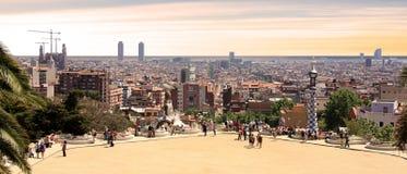 L'Espagne - le Barcelone Photo libre de droits