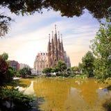 L'Espagne - le Barcelone Image libre de droits