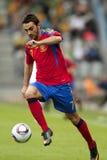 l'Espagne - le Belarus (l'UEFA Under21) Images stock