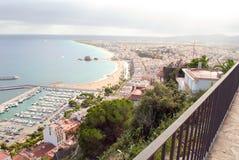 L'Espagne/le brava/côte de côte Photographie stock