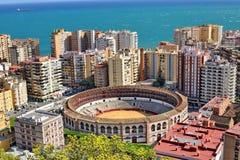 L'Espagne Malaga Photos libres de droits