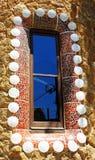 L'Espagne, ville de Barcelone, parc Guell Images stock