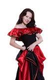 l'Espagnol de Veille de la toussaint costume la femme. Photo stock