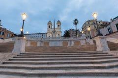 L'Espagnol fait un pas Rome, Italie photos libres de droits