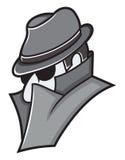 L'espion Images libres de droits