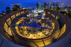 L'esplanade ronde Photos libres de droits