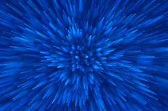 L'esplosione blu di scintillio accende il fondo astratto Fotografia Stock Libera da Diritti