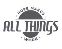 L'espoir fait tout le travail de choses illustration stock