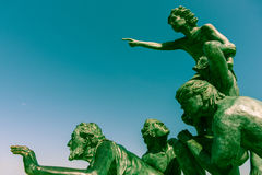 L `-Espoir monumental skulptur i Palavas-les Flots Arkivfoto