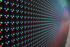 L'esposizione è LED Immagini Stock