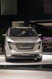 L'esposizione automatica di Shanghai W 2017 va in automobile Iconiq 7 Immagini Stock
