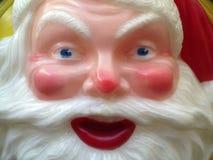 L'esposizione d'annata Santa Claus affronta Fotografie Stock Libere da Diritti
