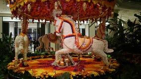 L'esposizione dei fiori al Wynn a Las Vegas Fotografia Stock Libera da Diritti