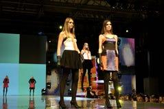 L'esposizione dei vestiti Fotografie Stock