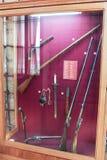 L'esposizione delle armi antiche Fotografie Stock