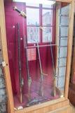 L'esposizione delle armi e delle spade antiche Fotografia Stock
