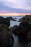 Linea costiera rocciosa Immagine Stock Libera da Diritti