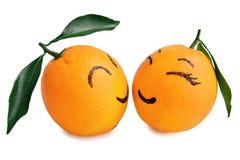L'espressione arancio fresca degli amanti il fumetto, il manifesto creativo, il matrimonio di Valentine Valentines sposato sposa  Immagine Stock Libera da Diritti