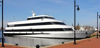 L'esprit du bateau de croisière de la Norfolk Photos libres de droits