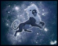 L'esprit du lion Images libres de droits