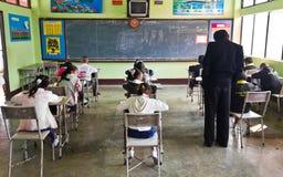 L'essai national des étudiants dans la pente 3 Image stock