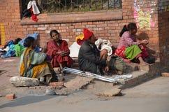 L'essere senza tetto e povertà fotografia stock libera da diritti