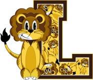 L est pour le lion Illustration Stock