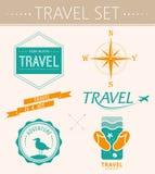 L'estate della raccolta identifica, etichette, distintivi royalty illustrazione gratis