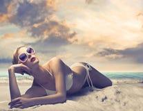 L'estate si distende Fotografie Stock Libere da Diritti