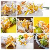 L'ester eggs le collage photographie stock