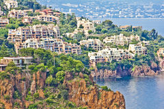 L'Esterel, south of France Stock Images