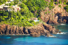 L'Esterel, south of France Royalty Free Stock Images