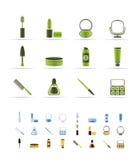 L'estetica e compone le icone illustrazione vettoriale