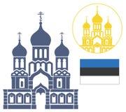 L'Estonia royalty illustrazione gratis