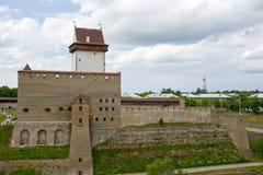 L'Estonia. Narva Fotografia Stock Libera da Diritti