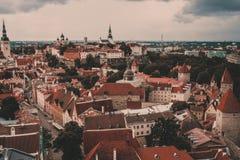 L'Estonia Tallinn Fotografie Stock
