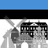 l'Estonie Images stock