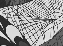 L'estratto allinea il fondo in bianco e nero Immagini Stock Libere da Diritti